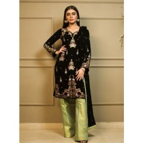 Aamna Aqeel A Velvet Romance Limited Edition Winter Collection 3 Piece (AQVL-7)