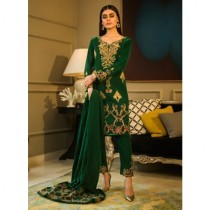 Aamna Aqeel A Velvet Romance Limited Edition Winter Collection 3 Piece (AQVL-1)