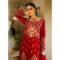 Aamna Aqeel A Velvet Romance Limited Edition Winter Collection 3 Piece (AQVL-2)
