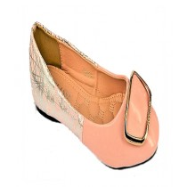 Anee Shoes Rexine Flat Pump For Women Pink