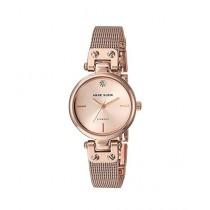 Anne Klein Diamond Women's Watch Rose Gold (AK/3002RGRG)