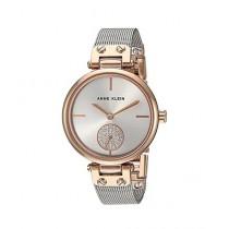 Anne Klein Swarovski Crystal Women's Watch Silver (AK/3001SVRT)
