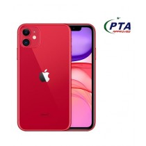 Apple iPhone 11 256GB Dual Sim Red - Official Warranty