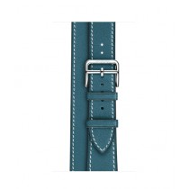 Apple Double Tour Band For Watch Hermes 38mm - Bleu Jean (MMNY2)