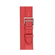 Apple Epsom Leather Double Tour Band For Watch Hermes 38mm -Rose Jaipur (MNHJ2)