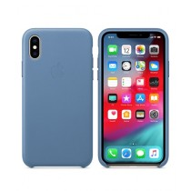 Apple Leather Cornflower Case For iPhone X/XS