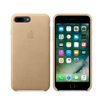 Apple Leather Case For iPhone 7 Plus - Tan