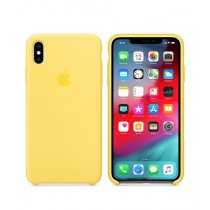 Apple Silicone Canary Yellow Case For iPhone XS Max