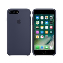 Apple Silicone Case For iPhone 7 Plus - Midnight Blue
