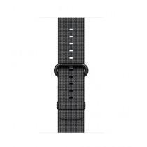 Apple Woven Nylon Band for iWatch 38mm - Black (MM9L2)