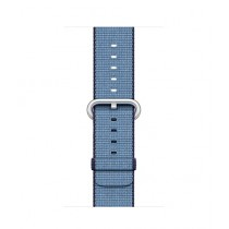 Apple Woven Nylon Band for iWatch 38mm - Navy/Tahoe Blue (MP222)