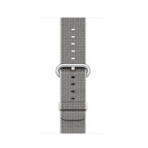 Apple Woven Nylon Band for iWatch 38mm - Pearl (MM9T2)