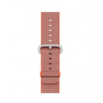 Apple Woven Nylon Band for iWatch 38mm - Space Orange/Anthracite (MNK72)