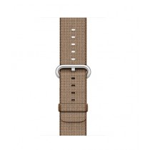 Apple Woven Nylon Band for iWatch 38mm - Toasted Coffee/Caramel (MNK42)