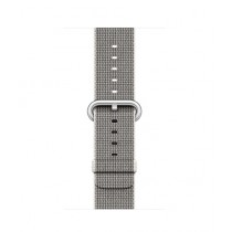 Apple Woven Nylon Band for iWatch 42mm - Pearl (MMA72)
