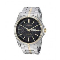 Armitron Day/Date Function Bracelet Men's Watch Two-Tone (20/5281BKTT)