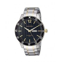 Armitron Day/Date Function Bracelet Men's Watch Two-Tone (20/5356BKTT)