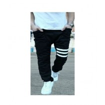 Arru Store Strip Trouser For Men Black