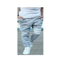 Arru Store Strip Trouser For Men Grey