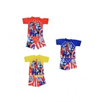 Asaan Buy Cartoon Character Swimming Suit For Boys Pack of 3 (1495)