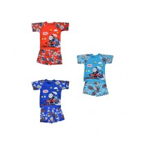 Asaan Buy Cartoon Character Swimming Suit For Boys Pack of 3 (1496)