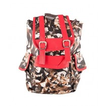 Asaan Buy Flowers School Backpack Brown (BP-034)