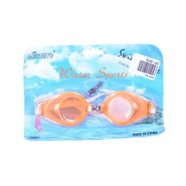 Asaan Buy Swimming Goggles With Ear Plugs & Nose Clip Orange