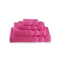 KS Collection Luxury Cotton Bath Towels Pink