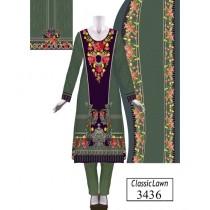 ASD Fashion Classic Lawn For Women (3436)