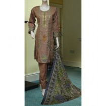 ASD Fashion Thread & Needles Embroidered Lawn For Women (0011)