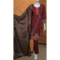 ASD Fashion Thread & Needles Embroidered Lawn For Women (0012)