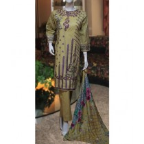 ASD Fashion Thread & Needles Embroidered Lawn For Women (0013)