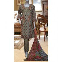 ASD Fashion Thread & Needles Embroidered Lawn For Women (0014)