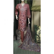 ASD Fashion Thread & Needles Embroidered Lawn For Women (0017)