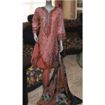 ASD Fashion Thread & Needles Embroidered Lawn For Women (0010)