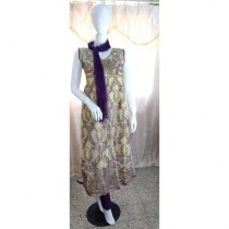 ASH Collection Embroidered Party Wear Dress For Women (0031)