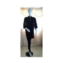 ASH Collection Linen Shirt For Women Black