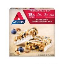 Atkins Blueberry Greek Yogurt 5 Bars