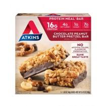 Atkins Chocolate Peanut Butter Pretzel 5 Bars