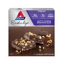 Atkins Endulge Nutty Fudge Brownie 5 Bars