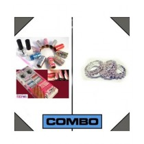 Attari Combo of Foils with Rings for Her (AC-0207)