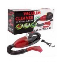 Attari Portable Car Vacuum Cleaner - Black & Red