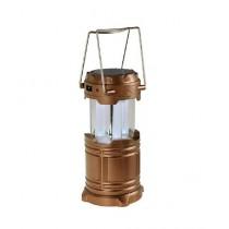 Attari Solar Rechargeable Camping Lantern - Bronze