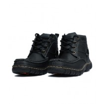 Attari Winter Digger Shoes for Men - Black (AC-0195)
