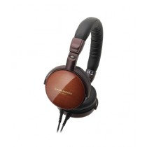 Audio-Technica Portable Wooden On-Ear Headphones (ATH-ESW990H)