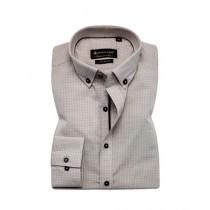 Avocado Rover Formal Shirt For Men Cream Check (PS-62)