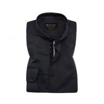 Avocado Shadow Formal Shirt For Men Dark Grey Pin Point (PS-51)