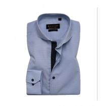 Avocado Space Formal Shirt For Men Light Blue Gingham Check (PS-24)