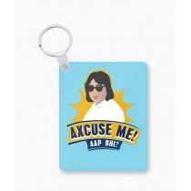 The Warehouse Axcuse Me Art Printed Key Chain (WHS-18)