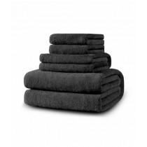 SoftSiesta Luxury Towel Grey Pack of 06